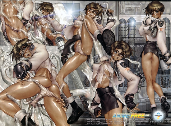Картинка [ Masamune Shirow ] - Artbooks & Posterbooks / Арт и Постеры [Ptcen] [737 pic] [JPG] [JAP,ENG] Hentai ART