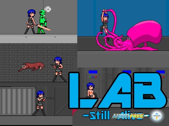 Картинка LAB -Still Alive- [2013] [Uncen] [Action] [ENG] H-Game