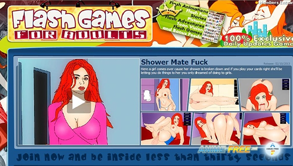 Картинка Flash games for adults [2012] [Uncen] [Flash] [ENG] SexGame