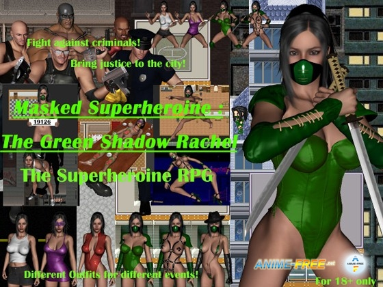 Картинка The Green Shadow Rachel [2014] [Cen] [jRPG,3DCG] [ENG] H-Game