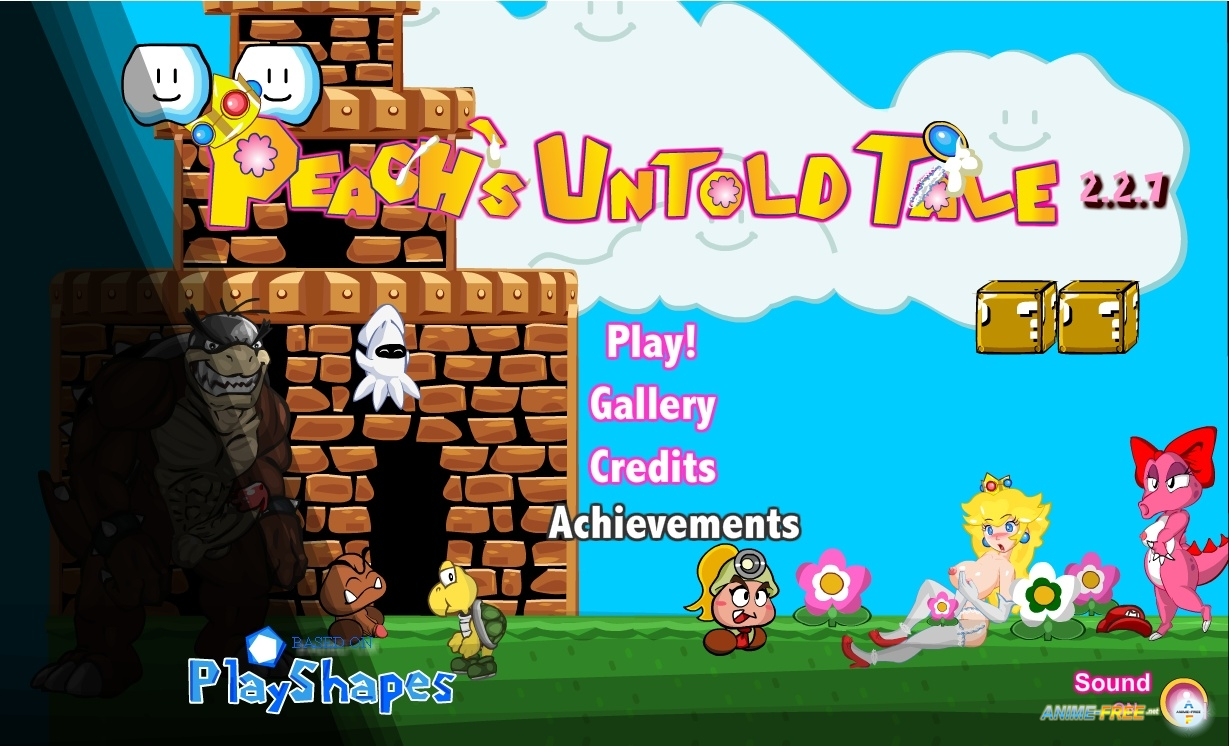 �������� Mario is Missing - Peach's Untold Tale [2014] [Uncen] [ADV, Flash] [ENG] H-Game