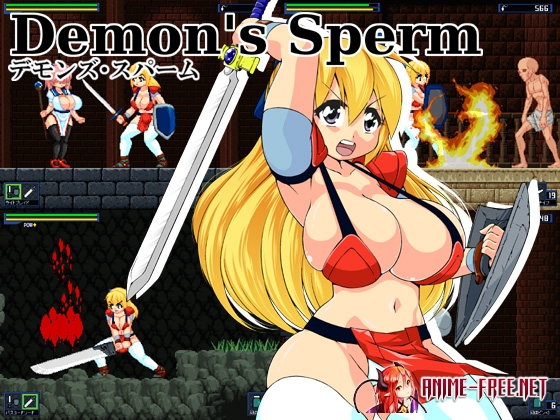 Картинка Demon's Sperm [2014] [Cen] [Action] [JAP] H-Game