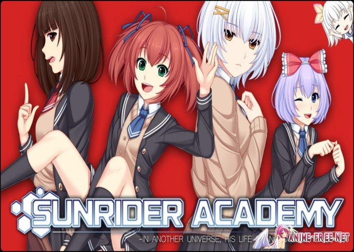 Картинка Sunrider Academy / Санрайдер академия [2015] [Uncen] [VN] [ENG] H-Game
