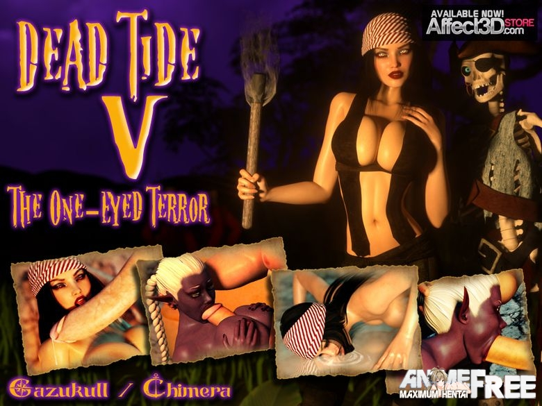Картинка Dead Tide 5: The One-Eyed Terror [2015] [Uncen] [3DCG, Animation] [ENG] H-Game