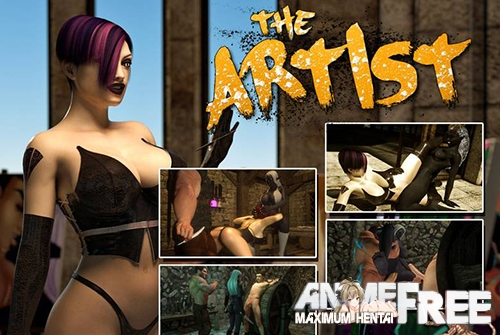 Картинка The Artist (Gazukull) [2015] [Uncen] [3DCG, Animation] [ENG] H-Game
