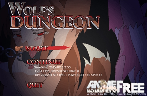 Картинка Wolf's Dungeon [2014-2018] [Uncen] [Action, Fighting] [JAP,ENG] H-Game