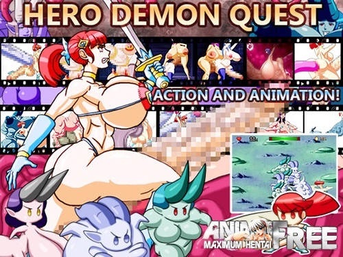 Картинка Hero Demon Quest [2014] [Uncen] [Action, Animation, Flash] [ENG] H-Game