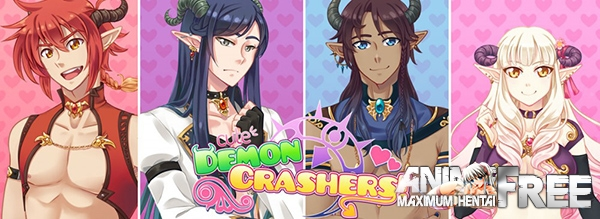 Картинка Cute Demon Crashers! [2015] [Uncen] [VN] [ENG] H-Game