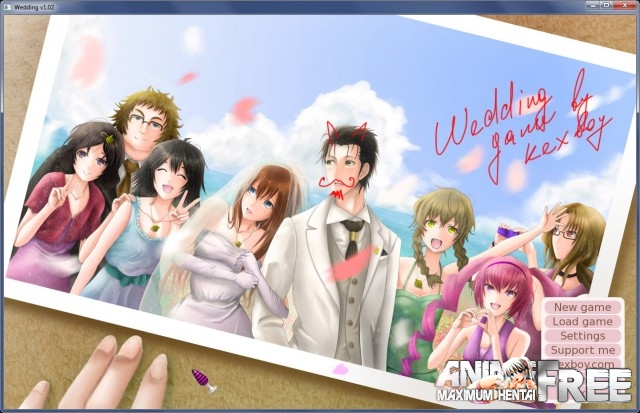 Картинка Wedding (KEXBOY) [2015] [Ptcen] [VN] [ENG,RUS] H-Game