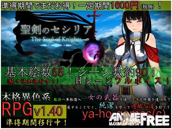 Картинка Seiken Cecilia ~ The Soul of Knights ~ [2014] [Cen] [jRPG] [JAP] H-Game