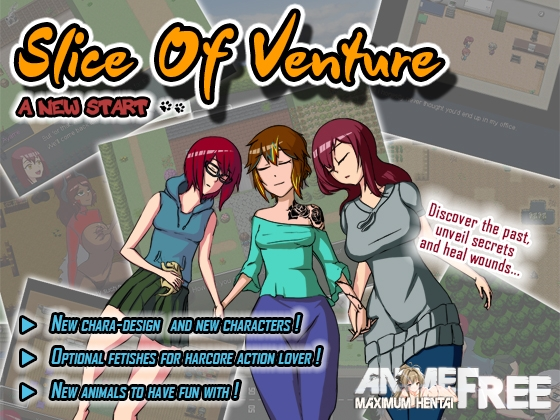 Картинка Slice of Venture - A New Start - [2015] [Cen] [jRPG] [ENG] H-Game