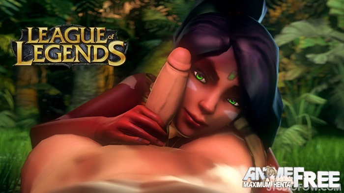 Картинка NIDALEE - QUEEN OF THE JUNGLE [2015] [Uncen] [3DCG, Flash, Animation] [ENG] H-Game