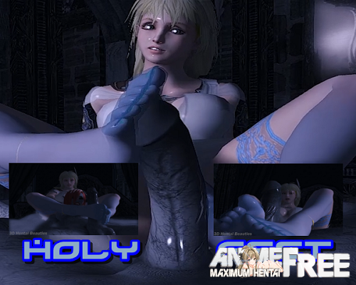 Картинка Holy Feet [2015] [Ep.1] [Uncen] [720p] [ENG] 3D-Hentai