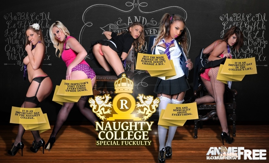�������� Naughty College - Special Fuckulty [2015] [Uncen] [Video, Flash] [ENG] SexGame