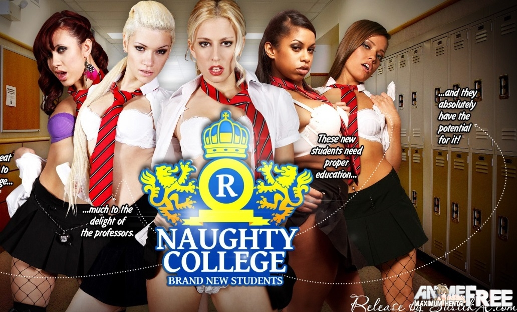 Картинка Naughty College Brand New Students [2015] [Uncen] [Video, Flash] [ENG] SexGame