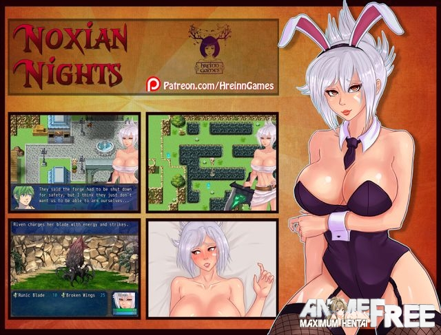 Картинка Noxian Night [2015-2016] [Uncen] [jRPG] [RUS] H-Game