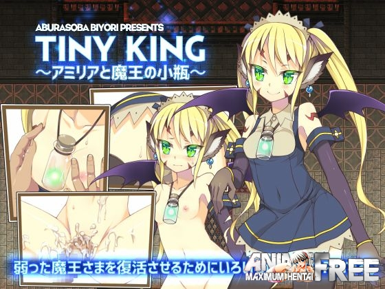 Картинка TINY KING ~Amelia and the Little Flask of the Demon King~ [2016] [Cen] [jRPG] [JAP,ENG] H-Game