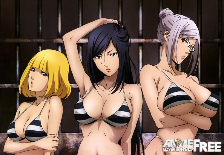 Картинка Kangoku Gakuen / Prison School / Школа-тюрьма [TV] [Ep.1-12] [Uncen] [BDRip/720p] [RUS,ENG] Ecchi
