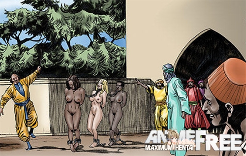 Картинка Zanzibar Slave Market / Невольничий Рынок Занзибара [Uncen] [ENG] Porno Comics