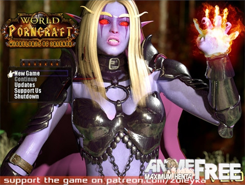 Картинка World of Porncraft - Whorelords of Draenor [2016] [Uncen] [RPG, Animation, 3DCG] [ENG] H-Game