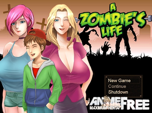 Картинка A Zombie's Life [2016] [Uncen] [RPG] [ENG] H-Game