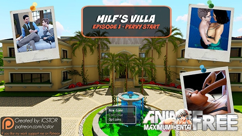 Картинка Milf's Villa - (Completed) [2017] [Uncen] [ADV, RPG, 3DCG] [ENG] H-Game