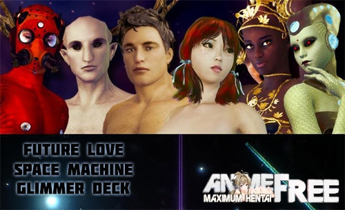 Картинка Future Love Space Machine: Glimmer Deck [2016] [Uncen] [3D, SLG, Animation] [ENG] H-Game