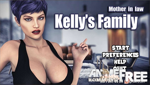 Картинка Kelly's Family: Mother in law [2018] [Uncen] [3DCG, SLG, ADV] [ENG] H-Game