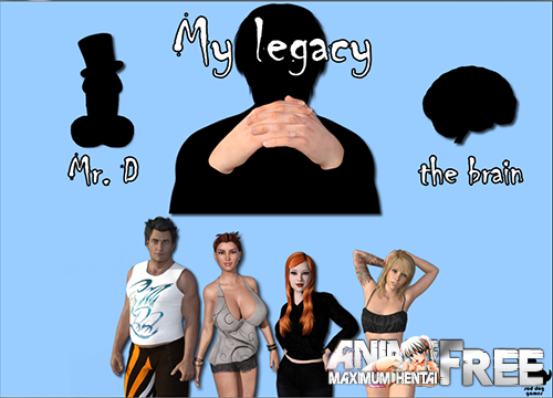 Картинка My Legacy [2017] [Uncen] [3DCG, ADV] [ENG] H-Game