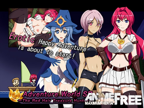 Картинка Adventure World SP -The Red Hair Treasure Hunter- [2016] [Cen] [Action, ADV] [JAP] H-Game