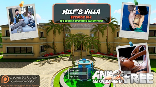 Картинка Milf's Villa - Episode 2 [2017] [Uncen] [Animation, RPG, 3DCG] [ENG] H-Game