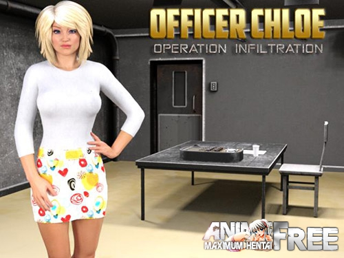 Картинка Officer Chloe: Operation Infiltration [2017] [Uncen] [RPG, 3DCG] [ENG] H-Game