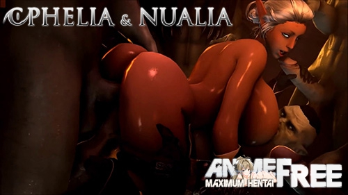 Картинка Ophelia and Nualia / Офелия и Нуалия [2017] [Uncen] [HD/1080p/720p] [ENG] 3D-Hentai