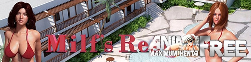 Картинка Milf's Resort [2017] [Uncen] [ADV, 3DCG] [ENG] H-Game
