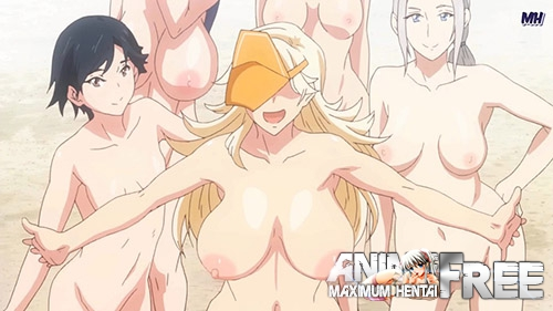 Картинка Yarimoku Beach ni Shuugakuryokou de!! The Animation [Ep.1] [JAP] [1080p] Anime Hentai