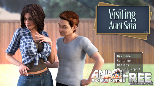 Картинка В Гостях У Тети Сары / Visiting Aunt Sara [2017] [Uncen] [3DCG, ADV] [Android Compatible] [ENG,RUS] H-Game