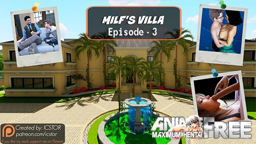 Картинка Milf's Villa - Episode 3 [2017] [Uncen] [Animation, RPG, 3DCG] [ENG] H-Game