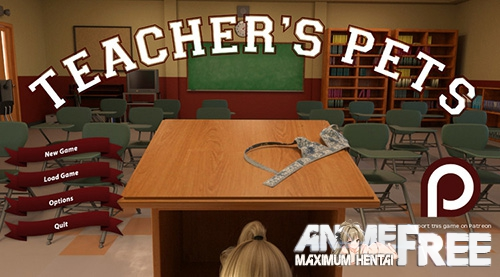 Картинка Teacher's Pets [2017] [Uncen] [3DCG, ADV] [ENG] H-Game