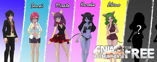 Картинка Monster Girl Tailes [2017] [Uncen] [ 3D, Action, SLG, Dating Sim] [ENG] H-Game