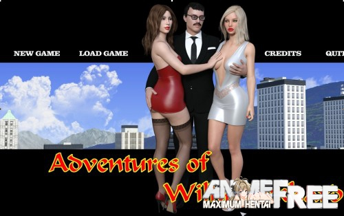 Картинка Adventures of Willy D. [2017] [Uncen] [3DCG, Animation, ADV] [ENG] H-Game