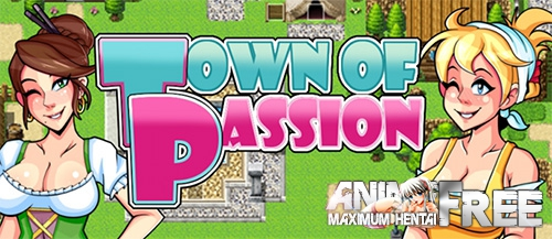 Картинка Town of Passion [2017] [Uncen] [RPG, Animation] [RUS,ENG] H-Game