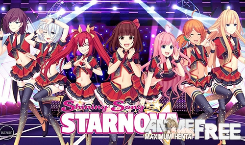 Картинка Shining Song Starnova [2017] [Uncen] [VN, Animation] [RUS,JAP] H-Game