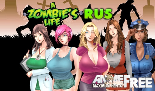 Картинка A Zombie's Life [2016] [Uncen [RPG] [RUS] H-Game