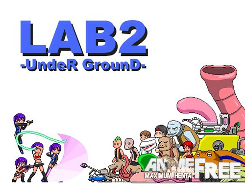 Картинка LAB2-UndeR GrounD [2017] [Cen] [Action, Dot/Pixel] [ENG,JAP] H-Game
