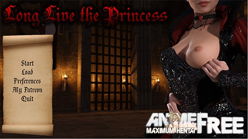 Картинка Long Live The Princess [2017] [Uncen] [3DCG, ADV] [RUS] H-Game