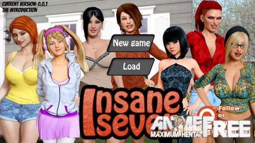 Картинка Insane seven [2017] [Uncen] [ADV, 3DCG] [ENG] H-Game