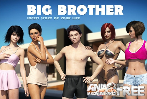 Картинка Big Brother / Большой Брат (License Original Game) [2017] [Uncen] [ADV, RPG, 3DCG, SLG] [RUS,ENG] H-Game