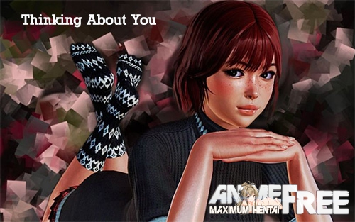 Картинка Thinking About You [2017] [Uncen] [ADV, 3DCG] [ENG,RUS] H-Game