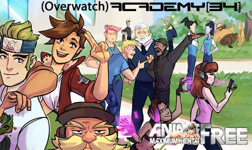 Картинка (Overwatch) ACADEMY34 [2018] [Uncen] [ADV, SLG, Date-Sim] [ENG] H-Game