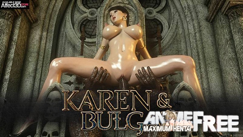 Картинка Karen and Bulgan the Impaler [Uncen] [3DCG] [ENG] Porn Comics